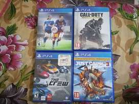 CDs for ps4