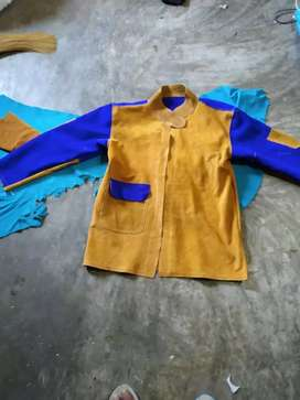 Welding jaket kulit safety