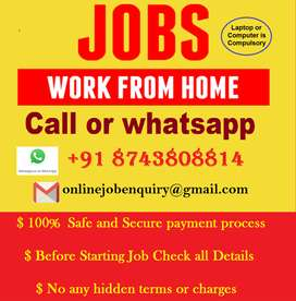 Anyone can apply for data entry. Req. Laptop or computer with Typing k