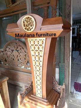 Ready mimbar masjid podium