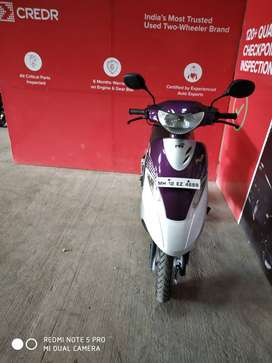 Good Condition TVS Scooty PepPlus with Warranty |  4689 Pune