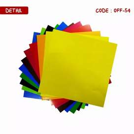 Kertas origami kertas lipat warna isi 25 lembar