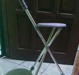 Tongkat duduk / tongkat lipat / tongkat sholat lansia