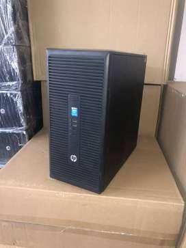 HP Tower CPU i5 4th Gen CPU - 8 Gb Ram - 120 Gb SSD - 2 TB HDD