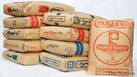 All Types of Cement available on very reasonable/ whole sale rate..