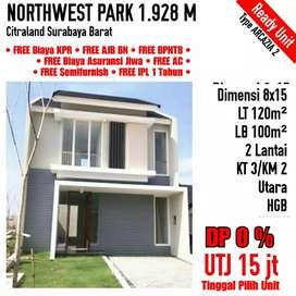 Rumah Northwest Park Citraland DP 0%