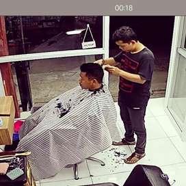 Lowongan kerja kapster tukang cukur Pangkas rambut