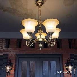 Lampu hias gantung ruang tamu model klasik minimalis lampu masjid