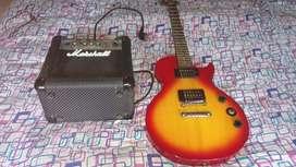 Epiphone les paul style guitar