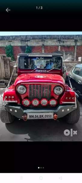 Mahindra Jeep thar 2002 Diesel 790000 Km Driven