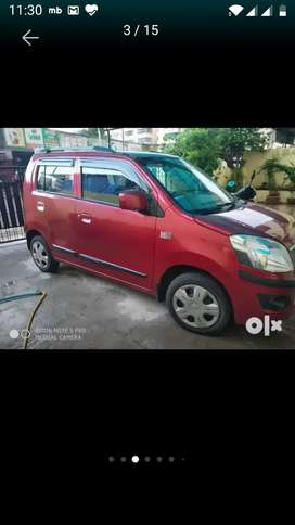 MARUTI WAGON R VXI PETROL RED COLOUR 13000KMS DONE