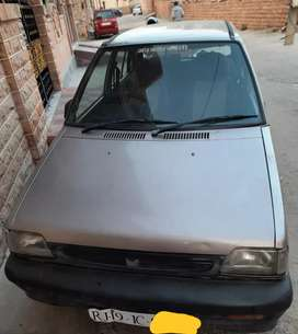 Maruti 800 is in original very good condition