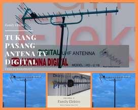 TOP SERVIS PUSAT PASANG BARU ANTENA TV PF DIGITAL TIGARAKSA TANGERANG