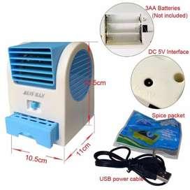 AC Duduk Mini | Mini Fan Air Conditioner Fragrance Portable