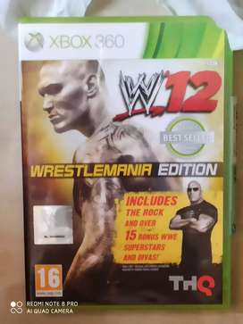 WWE 12 (WrestleMania Edition) available