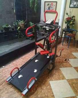 Treadmill manual 6 fungsi BA210 alat fitness