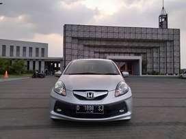 Dp 13 juta Honda Brio E Satya Manual 2014 Silver Km Antiq