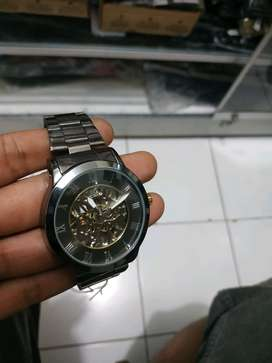 jam tangan automatic clasic Stainless NEW