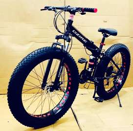 DZIRE 21 GEAR SHIMANO original torney fat tyer foldable cycle. New