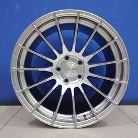 Cicil Velg Mobil Alapard Silvia DP 10% Ring 18 HSR RACE H5X114,3