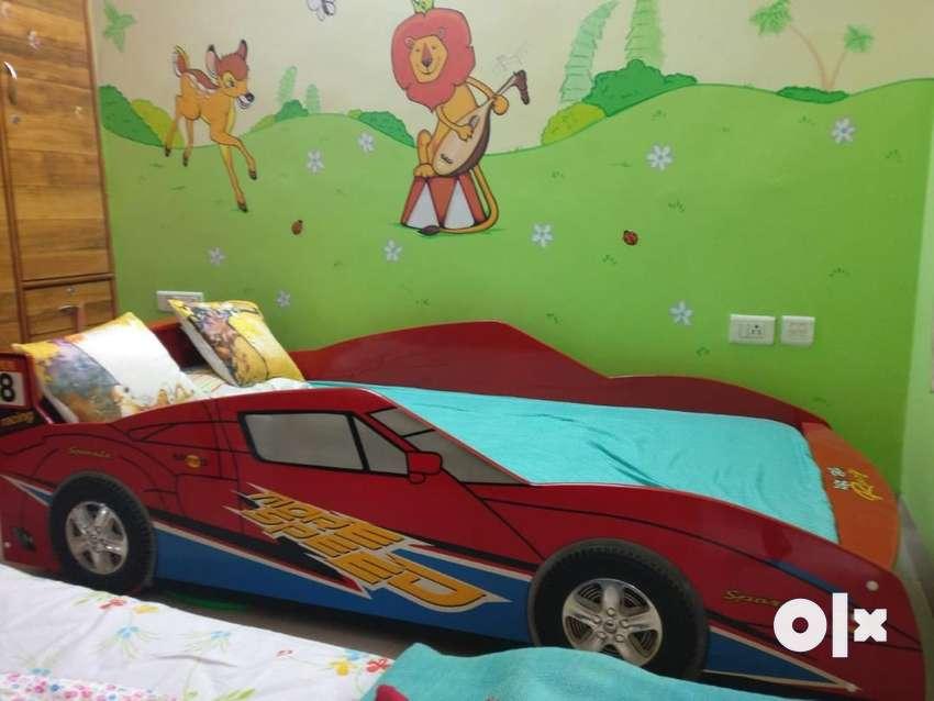 Kids Car Shaped Bed 0