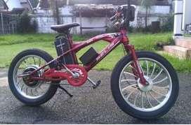Sepeda Listrik Merek Selis - Tipe Flash