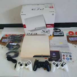 PS3 Slim Putih Seri 25xx 160Gb