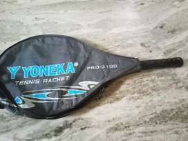 A good condition tennis racket...