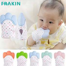 1 Piece Food Grade Finger Silicone Teether - Beautiful Glove Teether