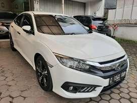 Honda Civic 1.5 Turbo AT Putih Mutiara 2017 ISTIMEWA