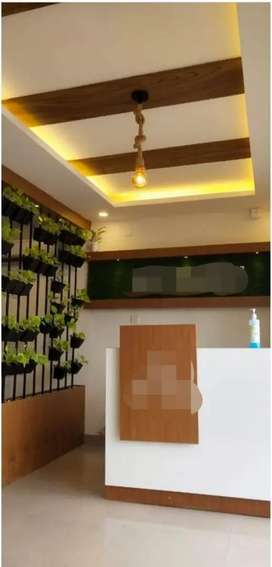 FULLY FURNISHED EXECUTIVE OFFICE SPACE FOR RENT NEAR PARUTHIPARA