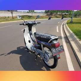 Honda grand bulus ori 91 asli abu2 sesuai ss pajak off bulan 11 2019