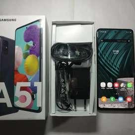 Samsung a51 6/128 likenew cari tt bawahe