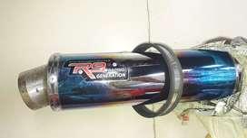 Knalpot R9 mugello original 100%