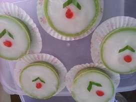 Kue Pisang Bolen, kue Lumpur, Bika Ambon,, Bakpau karakter