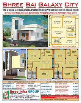 Simplex (core)house 990000 vingarpur near sudhananda collage.