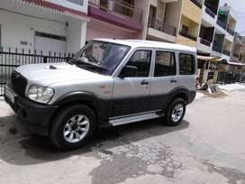 scorpio in good condition well maintained with alloy, music system