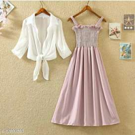 Dress and shirt combo