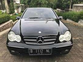 Mercedes Benz W203 C240 thn 2004 AT Elegance 2.6L mulus siap pakai
