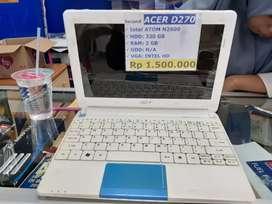 Notebook acer D270
