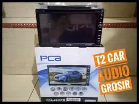 Dvd 2din merk PCA DENMARK android link led 7inc+camera hd harga grosir