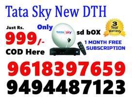 Tata Sky New DTH Just Rs.999/- Only COD Here tatasky     TATAKSY NEW S
