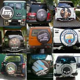cover/Sarung Ban Serep/online JeepAll-Ecosport cover ban rush vitara s