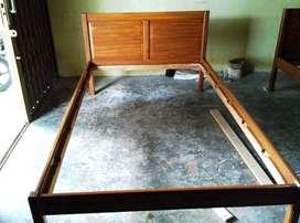 Divan Ranjang Dipan Tempat Tidur Kayu Jati Knock Down Bongkar Pasang