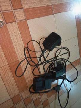 black berry mobile charger 2 nos and lumix camera