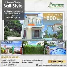 Gratis Pajak PPN 10% Rumah 2 Lantai Lengkapi Dengan Swimming Pool & Cl