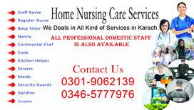 Home Nursing Care service Karachi .(R)