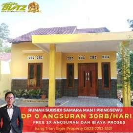 Rumah siap Huni dekat jalan raya Ganjaran Pringsewu