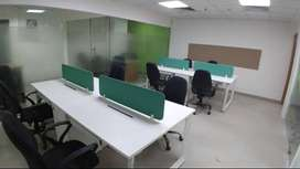 Lavish 10 Seater 2 Cabin Furnished Office For Rent At South Tukoganj