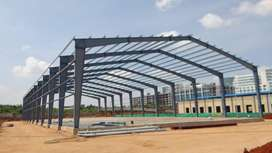 Prefabricat Industrial Prefabricated Light Steel Structure Shed Design